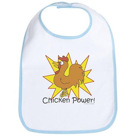Chicken Power Bib