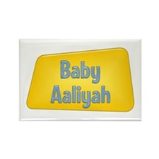 Baby Aaliyah Rectangle Magnet
