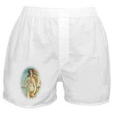 The Birth of Venus by Sandro Botticel Boxer Shorts