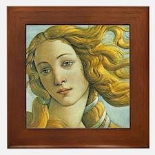 Venus * Sandro Botticelli Framed Tile