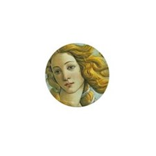 Venus * Sandro Botticelli Mini Button