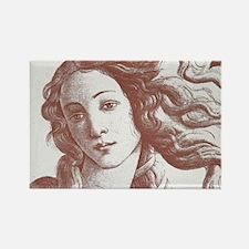 Venus * Sandro Botticelli Rectangle Magnet