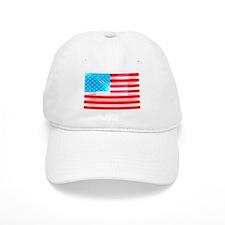 US Flag zooming out Baseball Baseball Baseball Cap