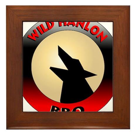 Wild Hanlon BBQ Framed Tile