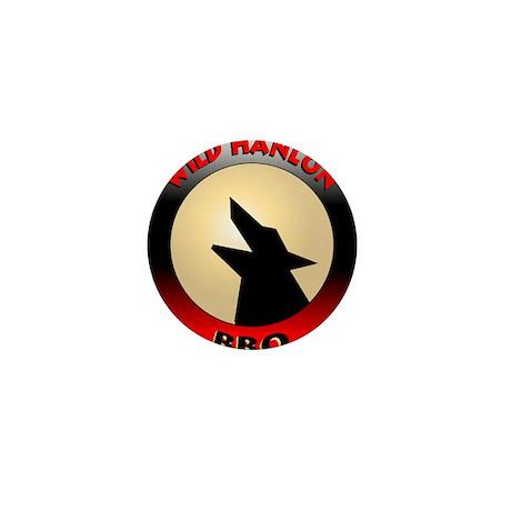 Wild Hanlon BBQ Mini Button (100 pack)