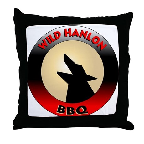 Wild Hanlon BBQ Throw Pillow