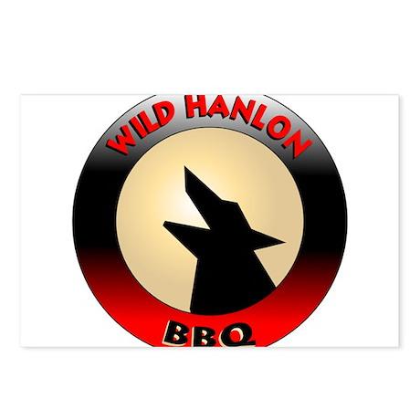 Wild Hanlon BBQ Postcards (Package of 8)