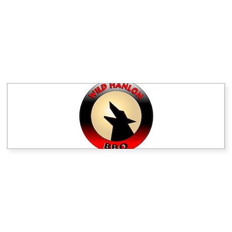 Wild Hanlon BBQ Bumper Sticker
