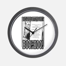 BOO FRIGG'N HOO! Wall Clock