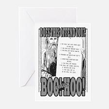BOO FRIGG'N HOO! Greeting Cards (Pk of 10)