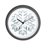 Snowflake Wall Clock