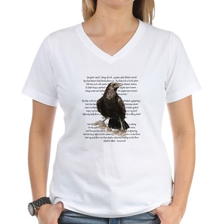 Edgar Allen Poe The Raven Poem T-Shirt