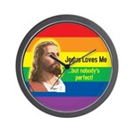 JESUS LOVE ME Wall Clock