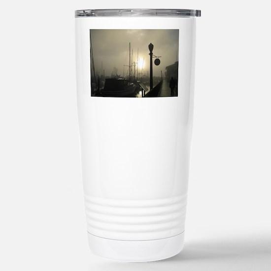 Santa Barbara Misty Mor Stainless Steel Travel Mug