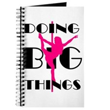 Doing BIG Things Pink Journal