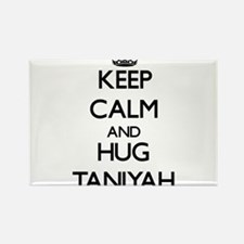 Keep Calm and HUG Taniyah Magnets