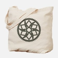 Bike chainring Tote Bag
