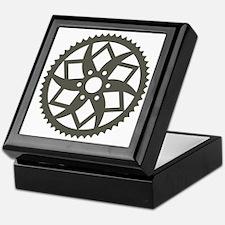 Bike chainring Keepsake Box