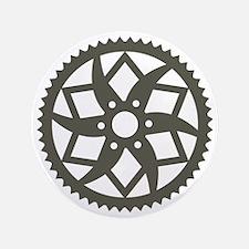 """Bike chainring 3.5"""" Button"""