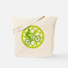 Biker chainring Tote Bag