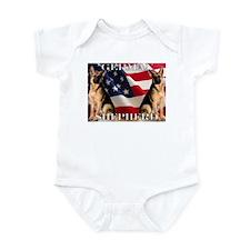 All American! Infant Bodysuit