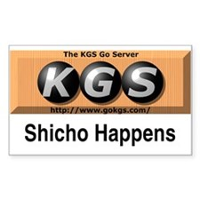 Shicho Happens Decal