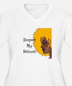 Respect My Natural Plus Size T-Shirt
