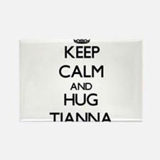 Keep Calm and HUG Tianna Magnets