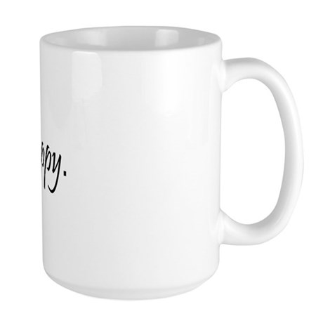 Skydive Happy Large Mug