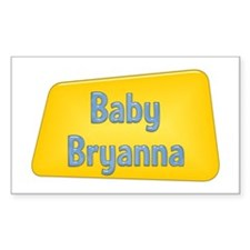 Baby Bryanna Rectangle Decal