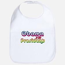 Retro Obama Bib