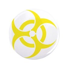 """Biohazard 3.5"""" Button"""