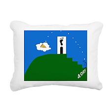 Adam's Peakza Rectangular Canvas Pillow