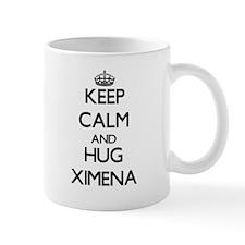 Keep Calm and HUG Ximena Mugs