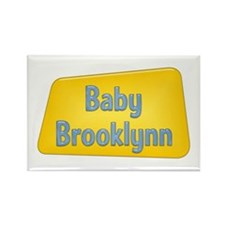 Baby Brooklynn Rectangle Magnet