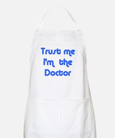 trust me i'm the doctor  BBQ Apron