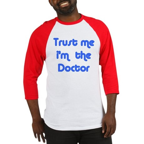 trust me i'm the doctor Baseball Jersey