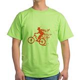 Bike power Green T-Shirt