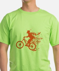 Biker ink splash T-Shirt