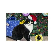 Cat Christmas Magnet Magnets