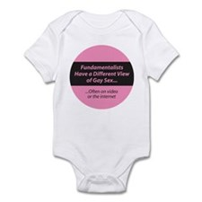 FUNDAMENTALISTS VIEW GAY SEX Infant Bodysuit