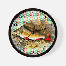 Perch Fish Wall Clock