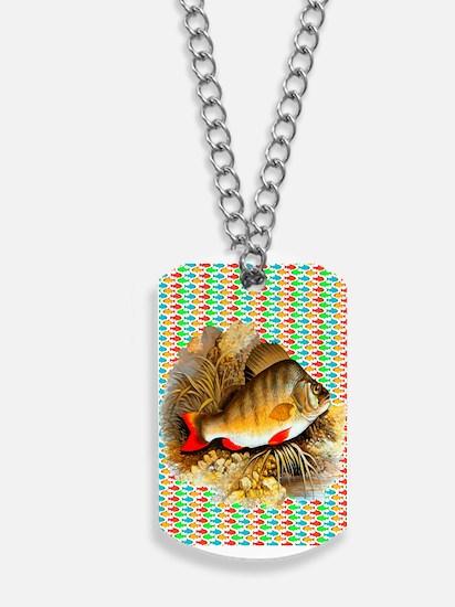 Perch Fish Dog Tags