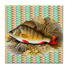 Perch Fish Tile Coaster