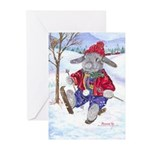 Rabbit Mithril Holiday Cards Greeting Cards