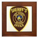 Nye County Sheriff Framed Tile