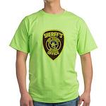 Nye County Sheriff Green T-Shirt