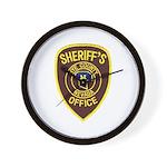 Nye County Sheriff Wall Clock