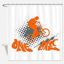 Funny Joy symbol Shower Curtain