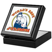 Rosie Riveter Best Stepmom Keepsake Box